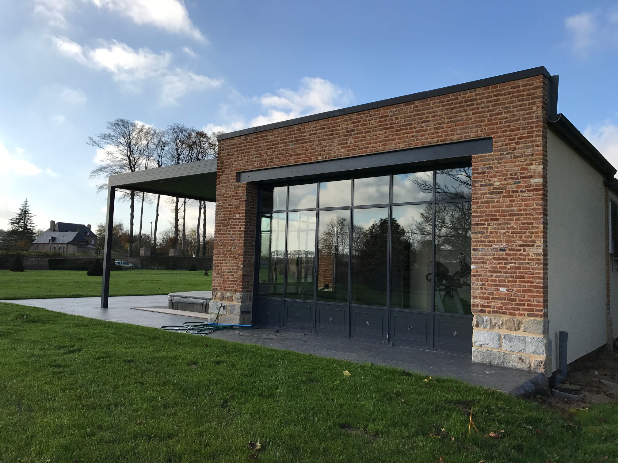 Extension d'une maison existante