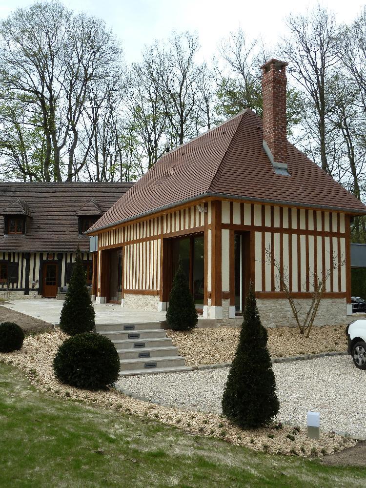 Création d'un agrandissement d'une maison existante